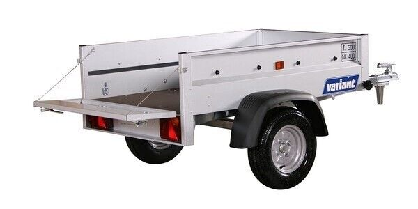 Ladtrailer, Variant 150 S1, lastevne (kg): 400