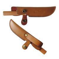Tourbon Knife Sheath Cover Hunting Knives Holder Holster Slip Belt Bowie Leather