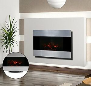 Chimenea-Electrica-de-Pared-90x9-5x56-cm-Chimeneas-y-Estufas-LED-Color-Plata-NUE