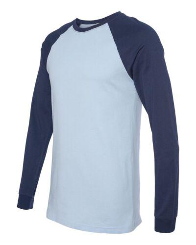 Long Sleeve Baseball Jersey T-Shirt NEW 3000 Bella   Canvas