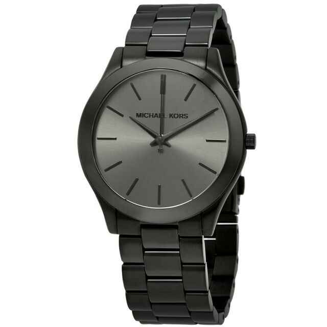 Michael Kors Slim Runway Black Dial Chronogarph Quartz Analog Men's Watch MK8507