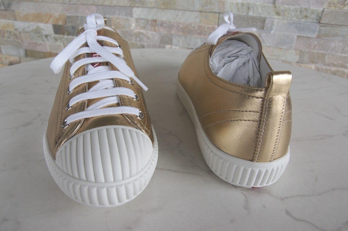 huge discount 90753 22b75 Pelle Normalissime 5 36 Agnello Scarpe 3e5876 Taglia Sneakers Prada W0STqT