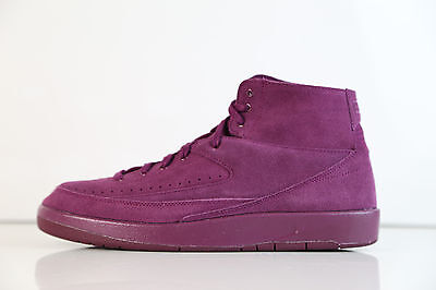 superior quality 0c405 b53e5 Nike Air Jordan Retro 2 Decon Burgundy Bordeaux Suede 897521-606 9-14 1 11  12 | eBay