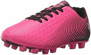 f89a2b43b85 Unisex Kids Stealth FG Size Soccer Shoes Pink black 8.5 M US Little ...