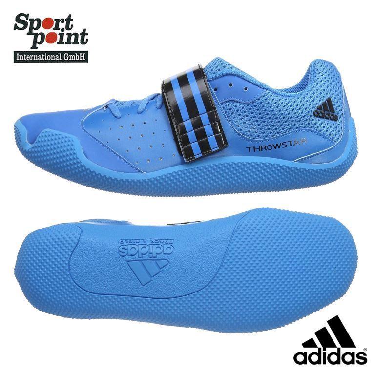 Adidas Throwestrella intorno Spikes Atletica Leggera Sautope Wurfdisziplinen 43 nuovo
