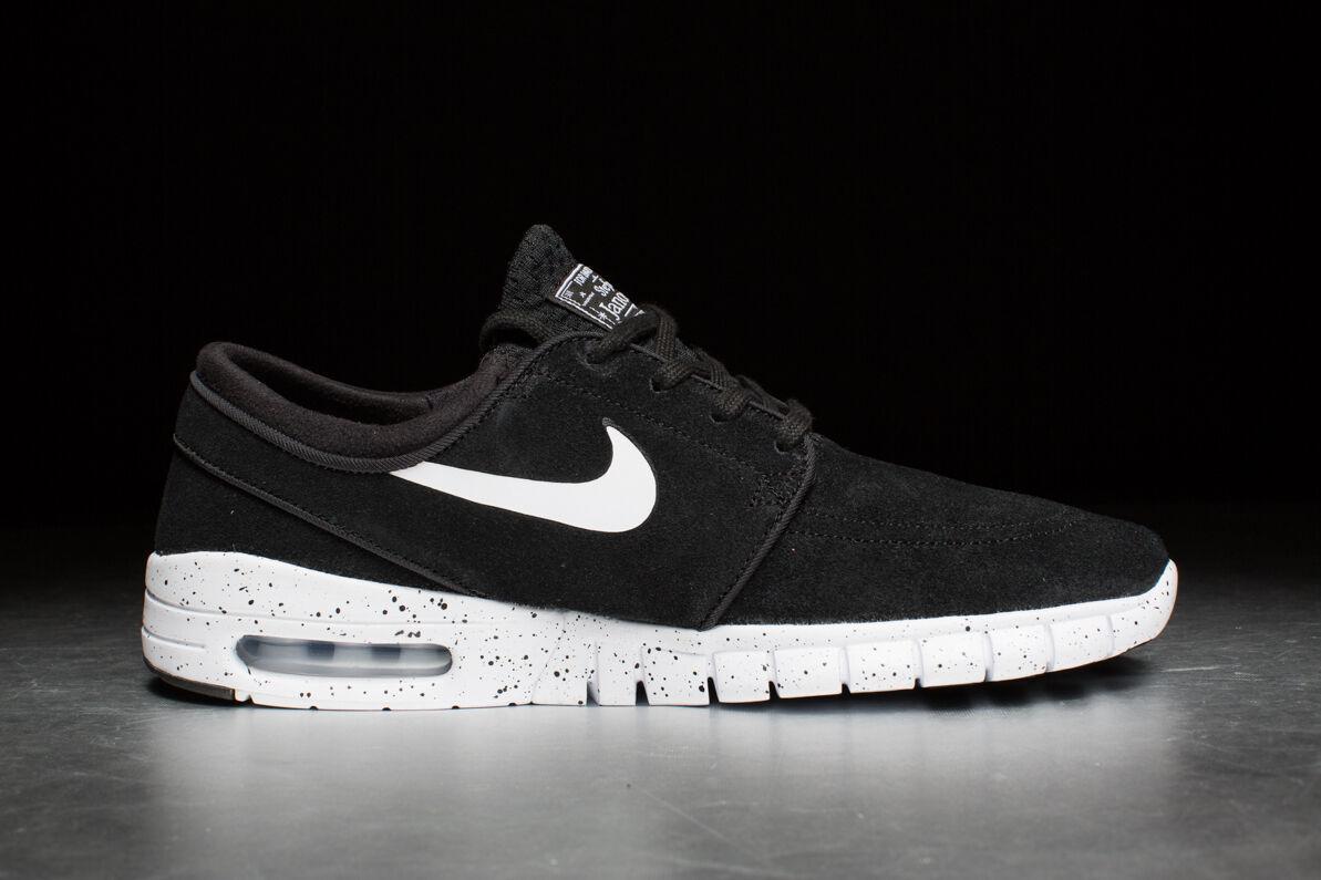 Nike stefan janoski max l 685299 002 schwarze farbe farbe farbe spritzen jordans sneaker - schuhe 8b6234