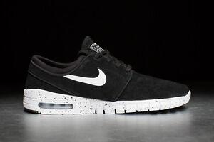 7a11e895912d Nike Stefan Janoski Max L 685299 002 Black Paint Splatter Jordans ...
