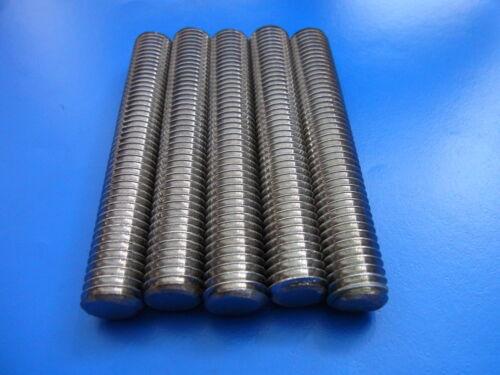 Gewindestange Gewindebolzen Stahl 10.9 DIN 976-B M5M6M8M10M12 Länge 30-250mm