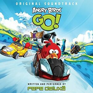 PEPE DELUXE - ANGRY BIRDS GO!  140 GRAM LP FIRST VINYL SOUNDTRACK TO MOBILE GAME