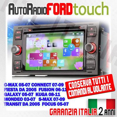 Galaxy Nero Fiesta C-Max set Kuga Transit Mondeo S-Max Mascherina Ford Focus 2
