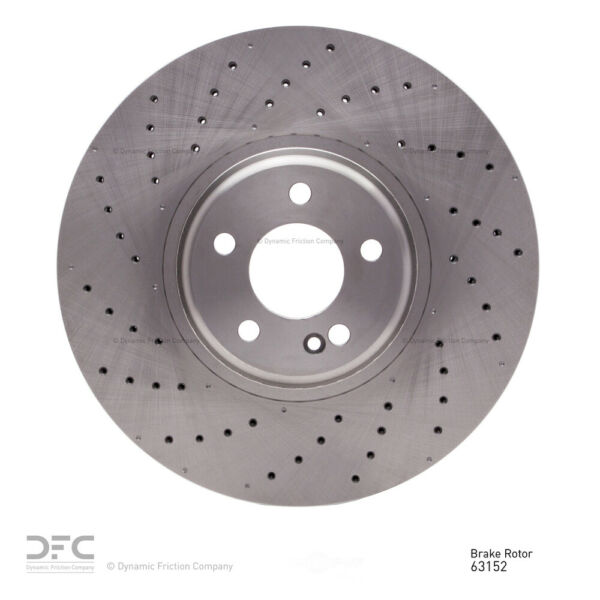 Drilled Front DFC 620-79004 Disc Brake Rotor-Brake Rotor