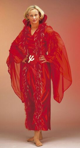 38-46 Teufelin Kleid Hexe Walpurgisnacht 121161313 Teufelsweib Kostüm Gr
