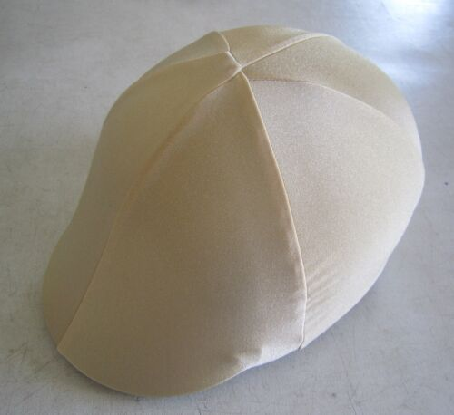 Horse Helmet Cover ALL AUSTRALIAN MADE ALL GOLD Any size you need