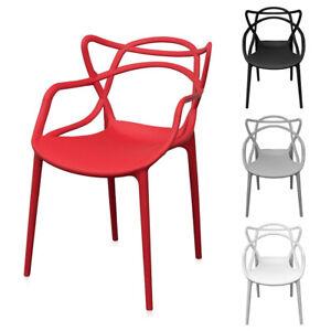 Sedia in polipropilene da interno esterno Sveva Sedie da pranzo Simile Kartell