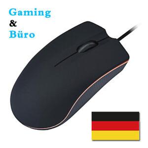 3-Taste-USB-Maus-Optisch-PC-Mouse-Kabelgebunden-Ergonomisch-Computer-Laptop-Maus