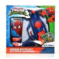 Spiderman V's The Sinister 6 Aqua Blaster-bath & Shower Gel-water Gun-target