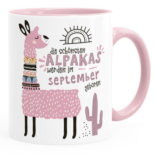 Kaffee-Tasse Die Schönsten Alpakas werden im Januar-Dezember geboren