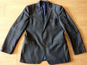French-Connection-Men-039-s-Grey-Suit-Jacket-Size-Chest-40-inch