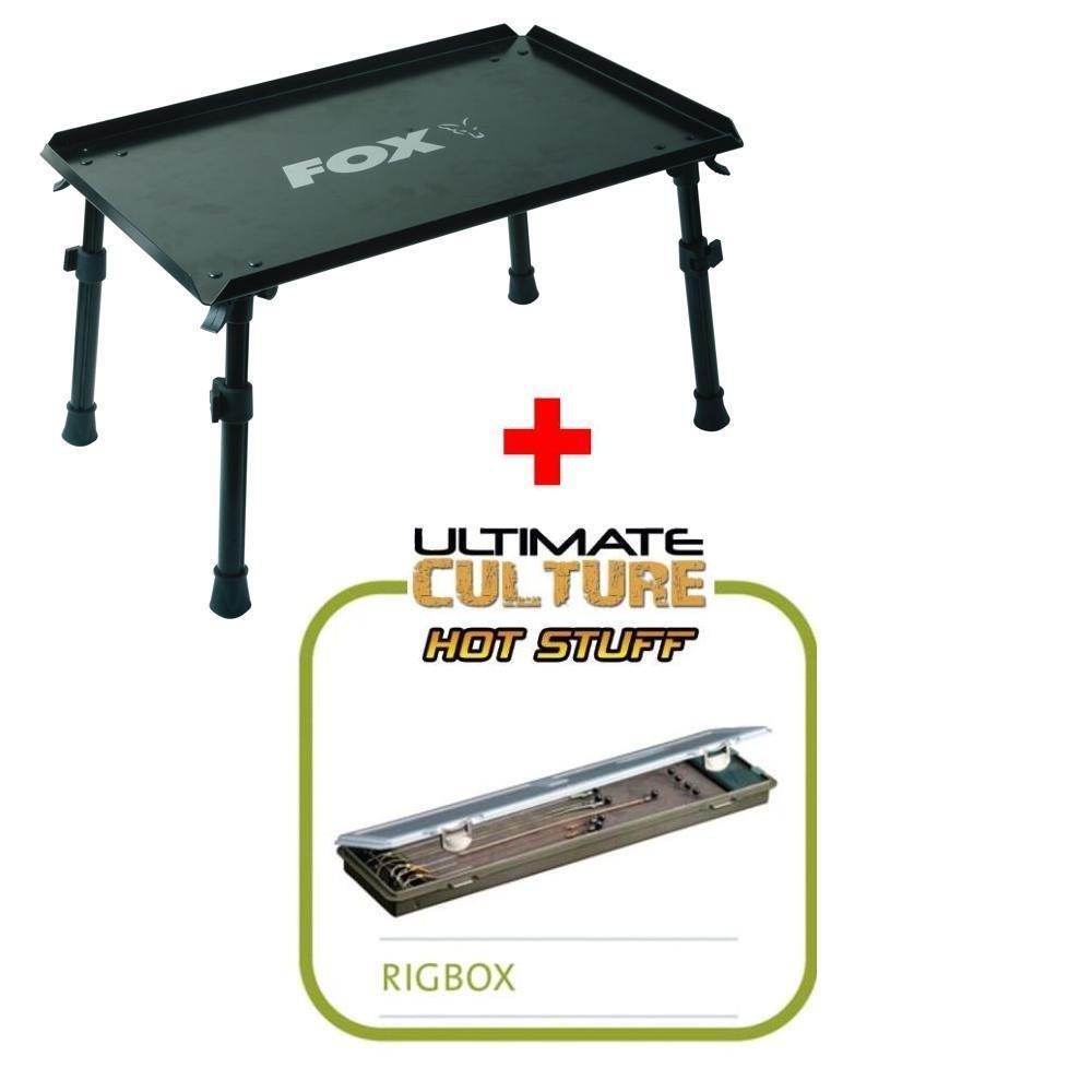 Fox Warrior Bivvi table + ULTIMATE Rig Box