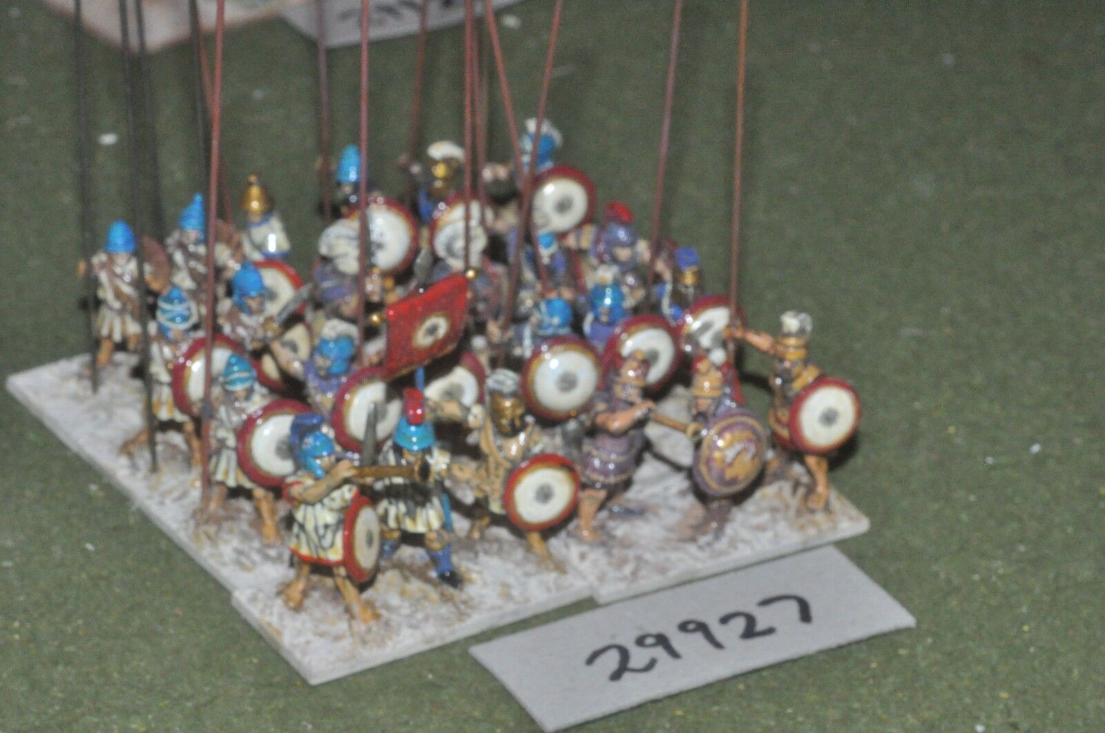 25mm Clásico macedonio-pikemen 24 figuras-INF (29927)