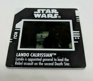 Star Wars Film Cell Lando Calrissi Kenner Hasbro 1997 - Rare