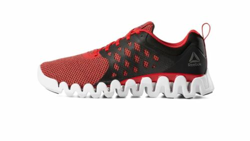 Reebok ZIG PULSE 3 Men/'s Sneakers Shoes Red//Black//White Brand New in a Box
