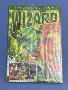 WIZARD-Special-Edition-1-Comic-Book-LOT-Signed-Erik-Larsen-IMAGE-Poster-Card