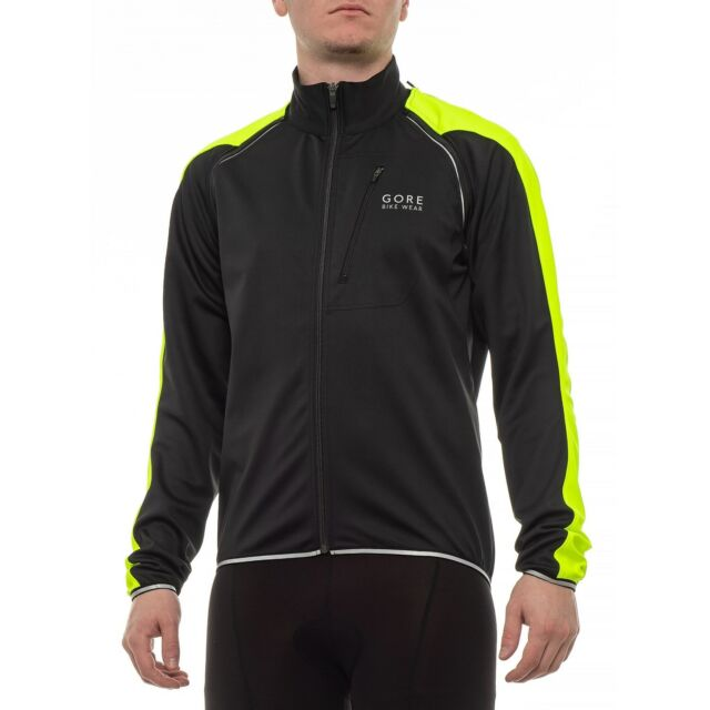 New Men`s Gore Bike Wear Contest SO Cycling Jacket JWCONZ Windstopper Soft Shell