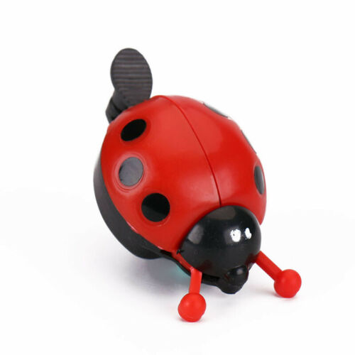 Bike Beetle Ladybug Shell Ring Bell Creative For Kids Cycling Bicycle Horn Alarm