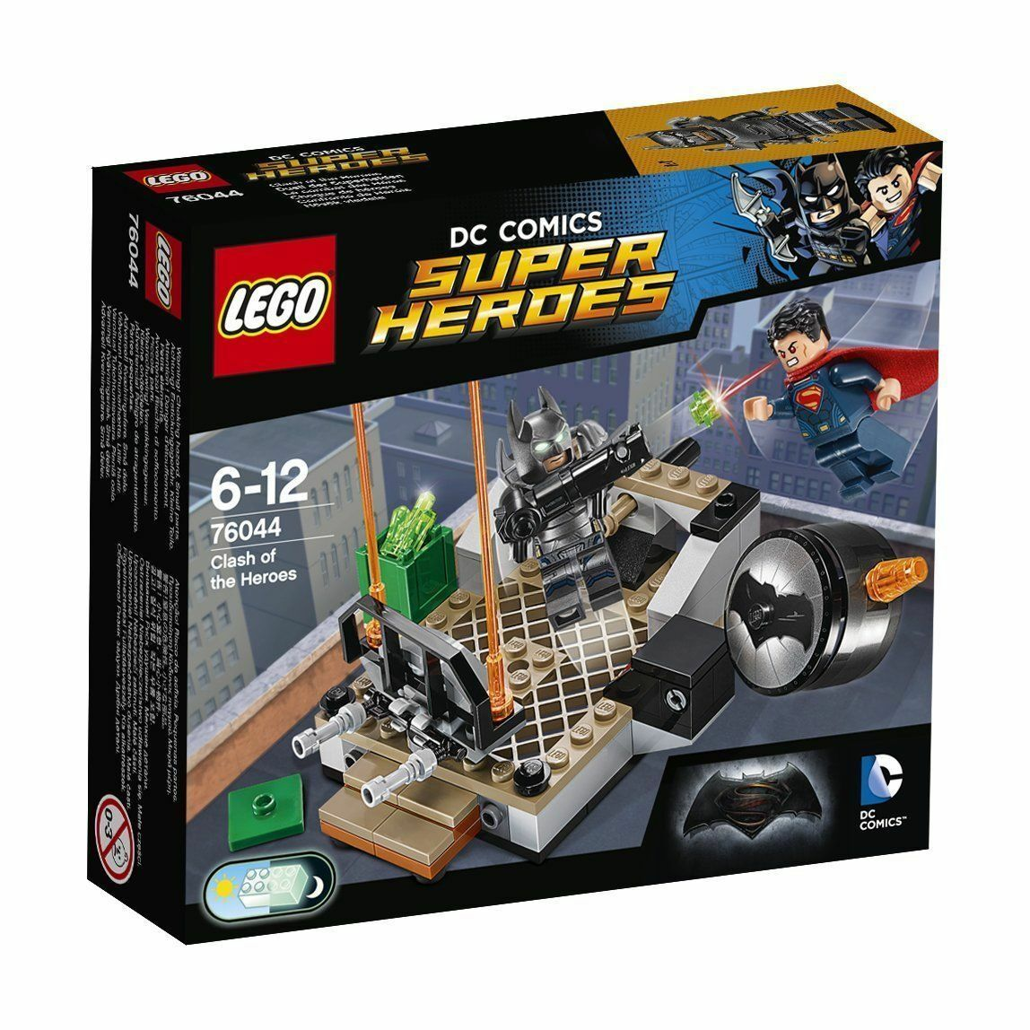 LEGO 76044 Super Heroes Clash of the Heroes  Brand New  DC Comics