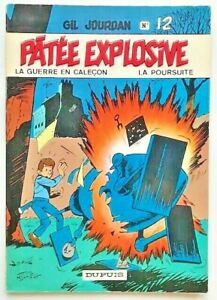 BD-Gil-JOURDAN-T-12-PATEE-EXPLOSIVE-EO-1971-Tillieux-Univers-Spirou-Felix