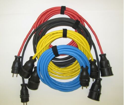 Verlängerungskabel  230V Gummikabel H07RN-F3X2,5mm²  für den Außenbereich