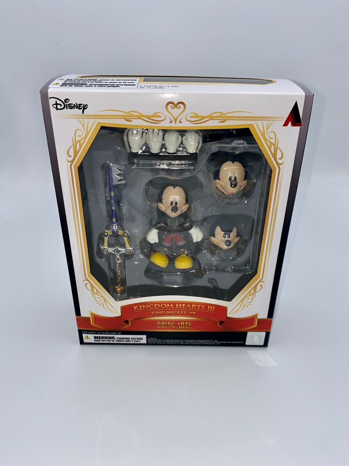 KINGDOM HEARTS III BRING ARTS KING MICKEY MOUSE Action Figures