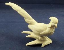 Small White Bisque Hutschenreuther Pheasant Bird Figure  - Vogel Weiss Figur