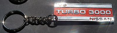 Billet Turbo 3000 Plenum Cover Logo Key Chain 84-89 300ZX Z31 Z VG30 V6