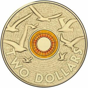 2015-Remembrance-Day-Orange-Coloured-2-RAM-Coin-Mint-Roll-UNC