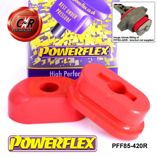 PFF85-420R Fits Powerflex VW Bora Front Engine Mount Dog Bone (Diesel)