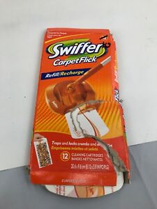 As Is Swiffer Carpet Flick Refill Recharge 9 Cleaning
