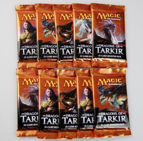 10x Dragons of Tarkir Booster englisch Magic the Gathering