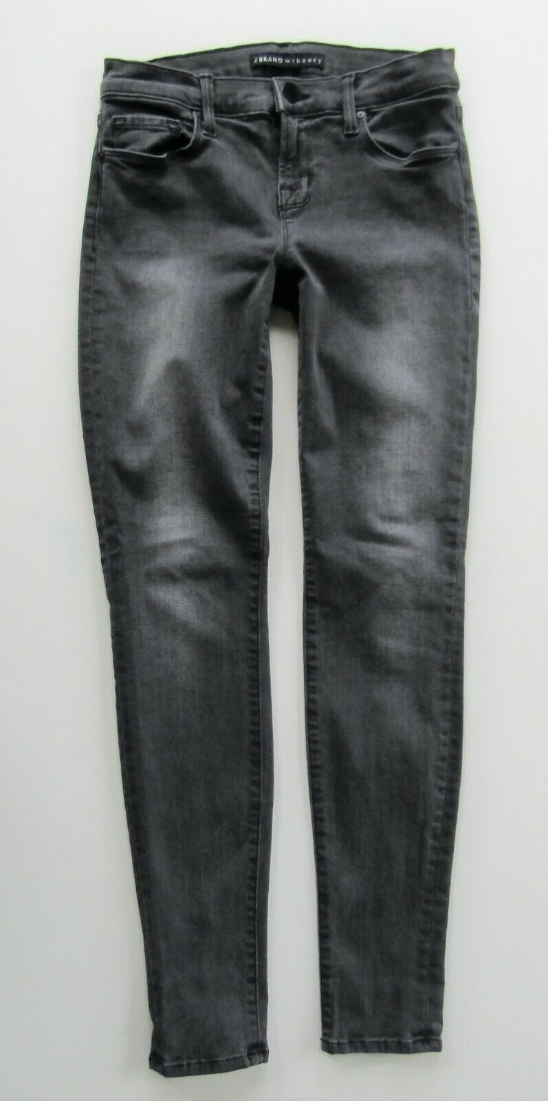 J Brand for Theory Mid Rise Skinny Ankle Jean in Alchemy, Grey - Size 26 MINT