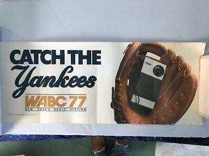 1981-WABC-Radio-and-New-York-Yankee-Subway-Advert-Poster-Very-Rare