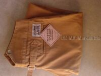 Old West Frontier Classics Frontier Trousers Pants Tan V-notch Back 34-52
