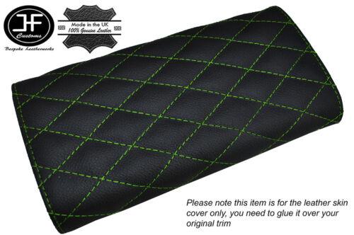 Vert DIAMOND stitch capot en cuir couvercle accoudoir fits MAZDA MX5 MIATA MK1 89-97