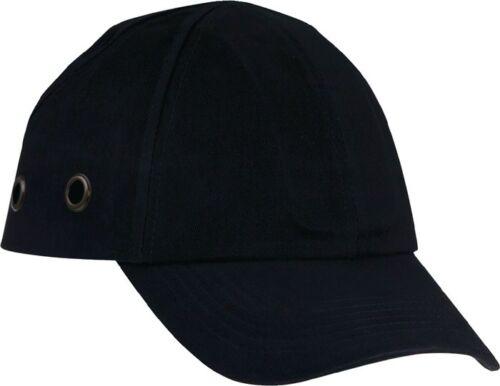 EN812:A1-100 /% Baumwolle statt Schutzhelm Anstoßkappe 54-59 cm schwarz
