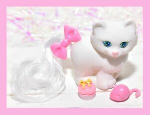❤️My Little Pony MLP Vtg G1 Lil Litters Style HQG1C White Kitty Cat Bella❤️