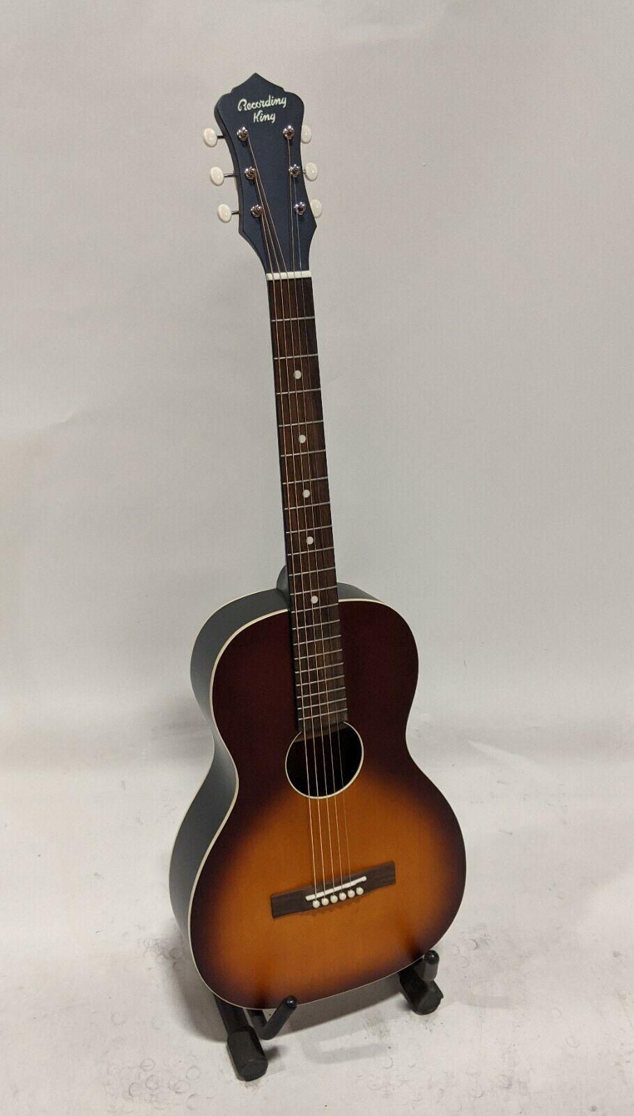 Recording King RPS-9-TS Dirty 30's Series 9 Single 0 Guitar, Tobacco Sunburst