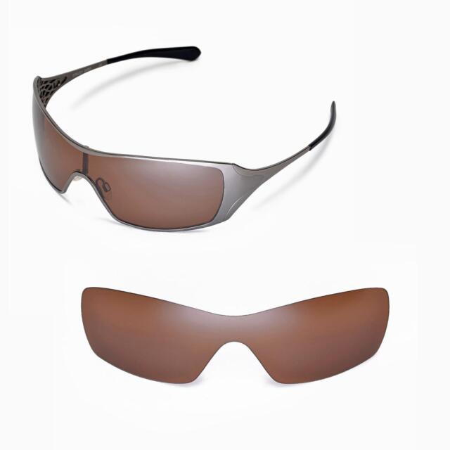 6ba114a1a8a Walleva Polarized Brown Replacement Lenses for Oakley Dart ...