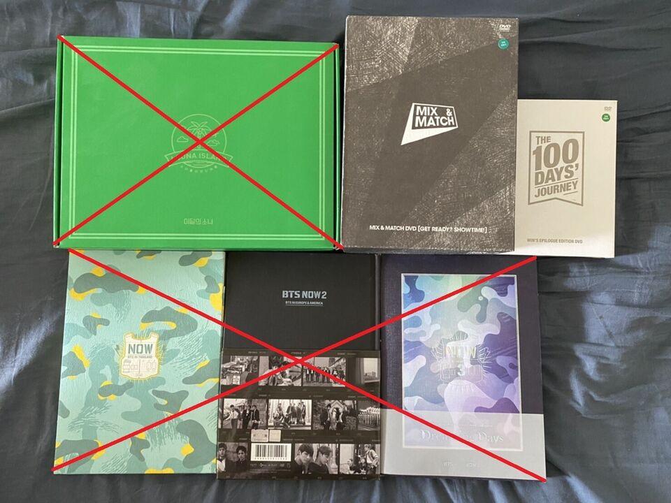 Kpop: Albums: Sælges, pop