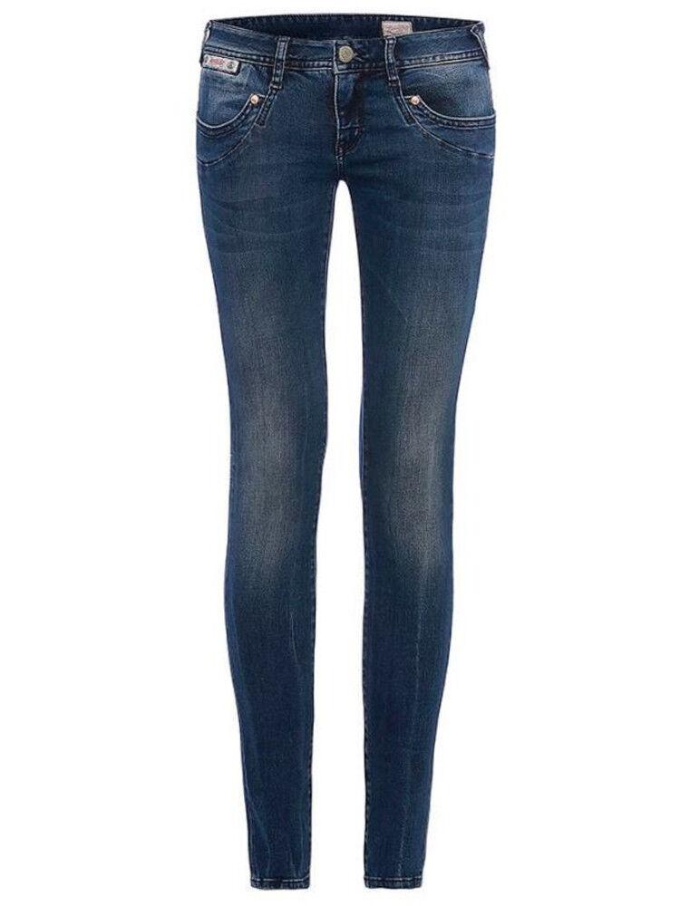 Herrlicher Donna Jeans Piper SLIM 5650 d9668 725 725 725 a distanza blu Denim Powerstretch 617857