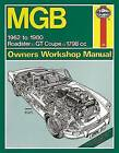 MGB Service and Repair Manual by Haynes Publishing Group (Paperback, 2013)